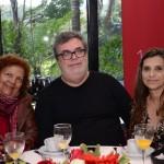Marlene Graça, da Solo Assessoria & Turismo, João Tadeu Morescalchi, da Arqturismo, e Telma Savioli, da Perfecto Viagens