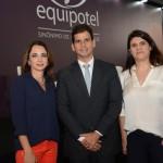 Marta Poggi, palestrante, Geraldo Figueirôa, da GF Viagem & Experiência