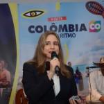 Martha Lucía Villegas, da secretária de Turismo da Alcaldía de Santiago de Cali