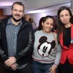 Mauricio Campos, Tatiana Campos e Elaine Alves, da Remagic