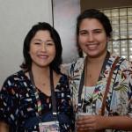 Mayra Iguchi da Hip Hotels e Bianca Caballero do SAT