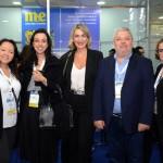 Mayumi Ogasawara, Hub2 World, Bianca Pizzolito e Luciane Leite, da WTM-LA, Eduardo Bittencourt e Miriam Silva, da CH Travel