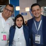 Michel Ramos, Alayde Santos e Allan Gomes, da Sakura Consolidadora