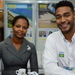 Miheret Kidane, da Embaixada da Etiópia, e Juliano Braga, do M&E
