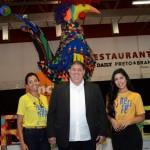 Mustafá Dias, Paula Gouveira e Andreza Santos, da secretária de Turismo do Recife