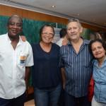 Olante Deodoro, da Cores Vivas, Odete Maria, da Livre Tour, Luiz Carlos, da Extrema Viagens e Turismo, e Edna Veloso, da Viagens Sazotours