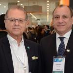 Orlando Souza, do Fohb, e Toni Sando, do Visite São Paulo