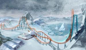 Conheça a Ice Breaker, nova montanha-russa congelante do SeaWorld