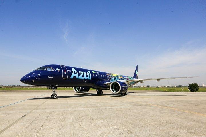 Novo Embraer 195-2 da Azul Linhas Aéreas