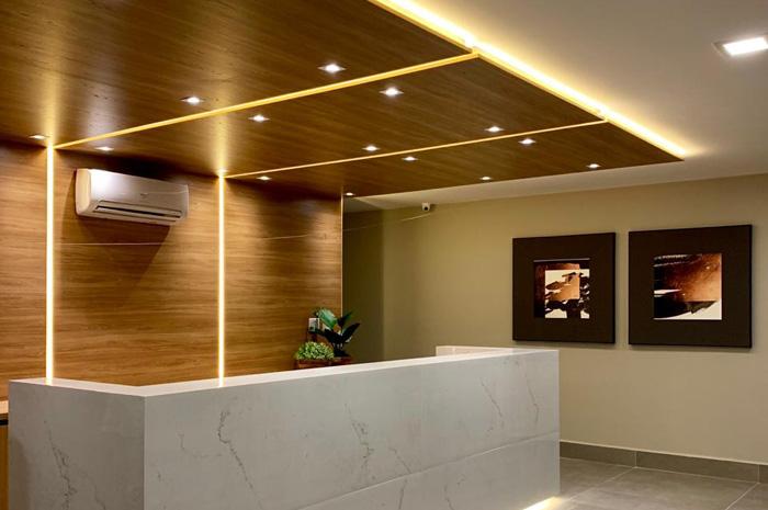 Para os apartamentos de 22m² a estimativa da diária média é de R$ 210,00, tarifa similar ao parque hoteleiro da região
