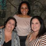 Patícia Guimarães, da GBond, com Veronica Giuveia e Paula Ladeira, da Pequenos Detalhes
