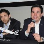 Pedro Asenjo e Víctor Mejía, da JetSMART