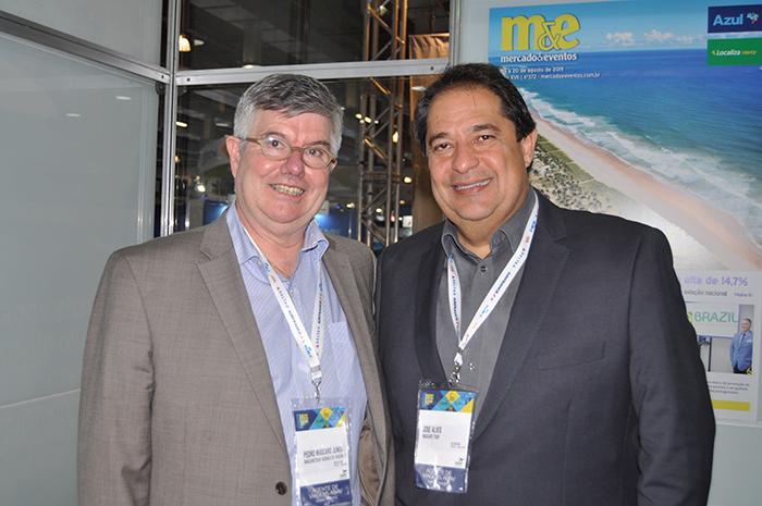 Pedro Mascaro, e José Alves, da Mascarotur