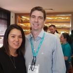 Priscila e Marcos Gonzales, da Clube Mais de Sorocaba