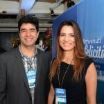 Rafael Takahashi e Caroline Passos, da Costa Cruzeiros