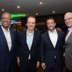 Reifer Souza Junior, da Alatur JTB Viagens, José Eduardo Barbosa, da Flot, Estevão Carvalho, da BRF, e Altamiro Medici, da SAA