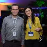 Renato Silva e Nathalia Moura, da CVC Corp