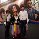 Reni Magliozzi, da Platanus Turismo, Conceição Klein, da Klein Viagens, e Vinícius Magliozzi, da Platanus Turismo