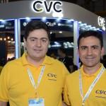 Roberto Vertemati e Rogério Mendes, da CVC Corp