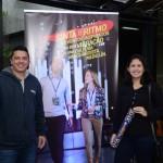 Robson Vaz, da FL Viagens, e Glaucia Ribeiro, da RGL Turismo