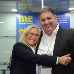 Rosa Masgrau, do M&E, com Mustafá Dias, da secretária de Turismo do Recife