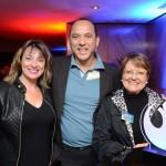 Rosana Souza, consultora de Viagens, Reynaldo Santos, da CVC, e Concepción Martin, da Concepcion Viagens & Turismo
