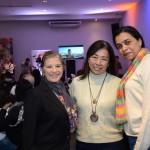 Roseli Castro, da RC Turismo, Alice Mitiko, da World Destiny, e Paula Izidorio, da D'orio Turismo