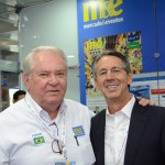 Roy Taylor, do M&E, e Eloi de Oliveira, do Grupo Flytour
