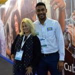 Rute Garcia, da Dream Factory, e Juliano Braga, do M&E
