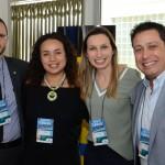 Ruy Ribeiro, da Costa Cruzeiros, Jacqueline Santos, da Logitravel, Catherine Silva e Vitor Correia, da Abreu
