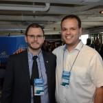 Ruy Ribeiro, da Costa Cruzeiros, e Rodrigo Aguiar, da Top de Vendas