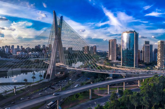 Entre os destinos brasileiros, São Paulo ocupa a primeira posição
