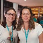 Sandra Carvalho, da Kaizen Viagens e Naiara Lima, da Belmar Viagens, as duas de São José dos Campos