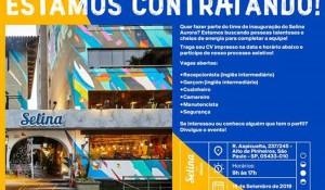 Nova unidade da Rede Selina em São Paulo está com vagas abertas