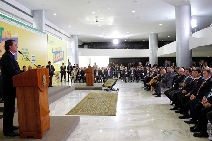Semana do Brasil foi lançada durante cerimônia no Palácio do Planalto. Crédito Beto Barata-MTur