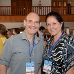 Sergio Goldstein e Luciana Goldstein, da Vete Brasil