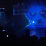 Show de luzes e água é um dos destaques do Halloween deste ano
