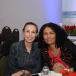 Stella Maria Ippolito, da AirPass Turismo, e Ivonira Lima, da FlyMoon Viagens