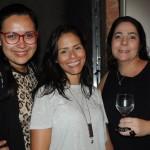 Tathiana Carvalho, da Hi Travel, entre Annelise Feijó e Adriana Leão, da Dantur Turismo