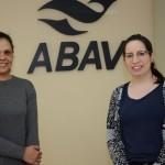 Tatiane Freitas, assistente de Atendimento, e Jessica Correa, Parcerias e Comercial
