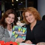 Teresinha Mira, da MTM Viagens, e Berenice Miranda, da Cia Vip Viagens