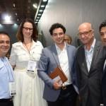 Tiharu Matsumoto, do Parque Balneário Hotel, Renata Beraldo, Rafael Menna, Rafael Guaspari, do Nobile, e Reginaldo Cunha, da Atlantica Hotels