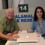 Timm Farell, da Safarim Tim, e Bianca Correa, da TTw Group