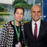 Valéria Fernandes e Nelson Oliveira, da Alitalia