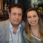 Vitor Correia e Catherine Silva, da Abreu