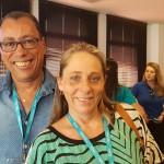 Wellington Oliveira, da WDM Viagens de Campinas e Lilian Salgado, da Antaris de Bragança Paulista