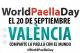 Valencia comemora o Dia Internacional da Paella