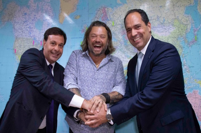 Gilson Machado, Richard Rasmussen, André Pitaguari Germanos