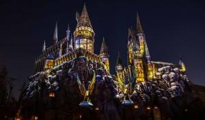 Castelo de Hogwarts ganha novo show de luzes no Universal Orlando Resort