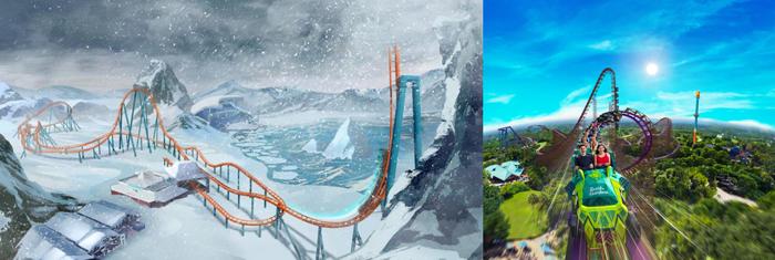 """Ice Breaker"" e ""Iron Gwazi"" inauguram em 2020 em Orlando e Tampa (FL)"